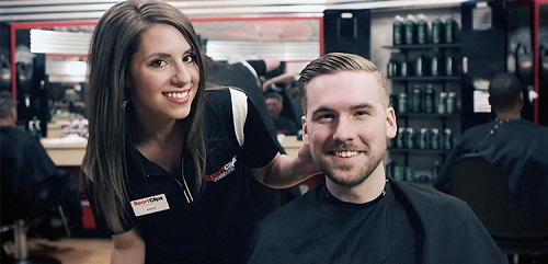 Sport Clips Haircuts of Pittsford​ stylist hair cut